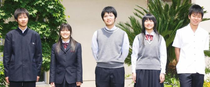 東九州龍谷高等学校制服画像